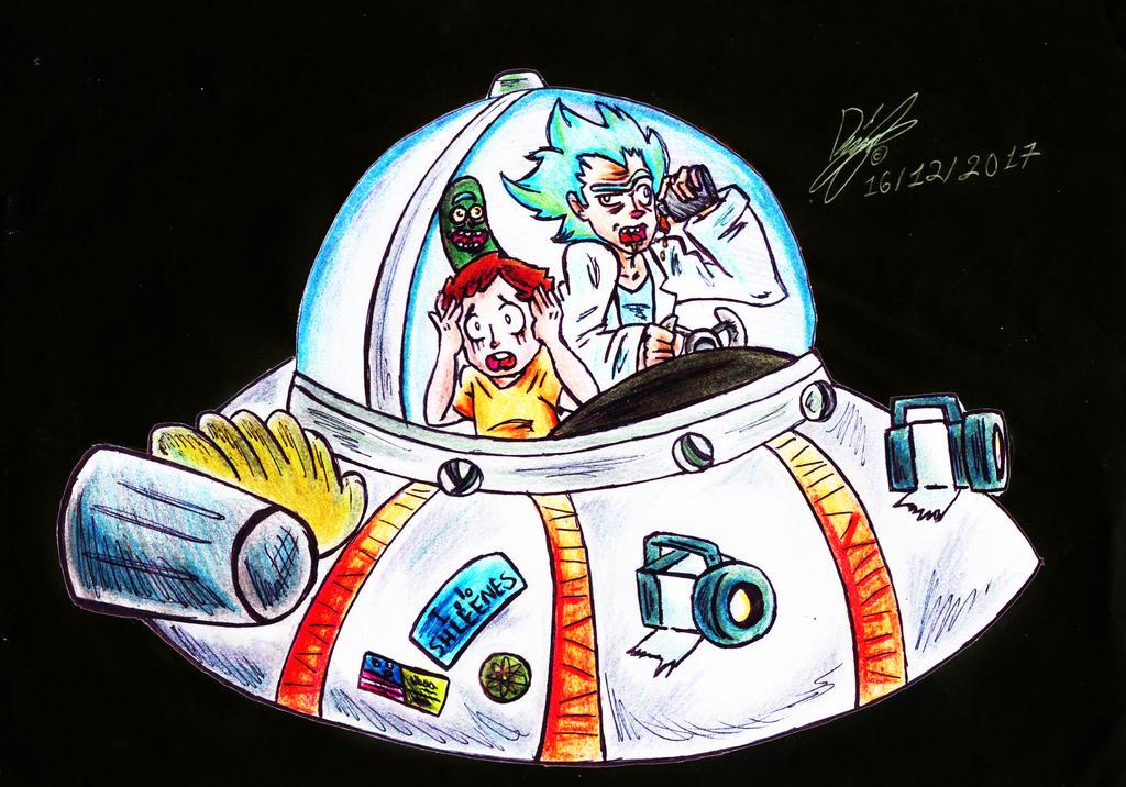 Rick y Morty by mrpulp-presenta