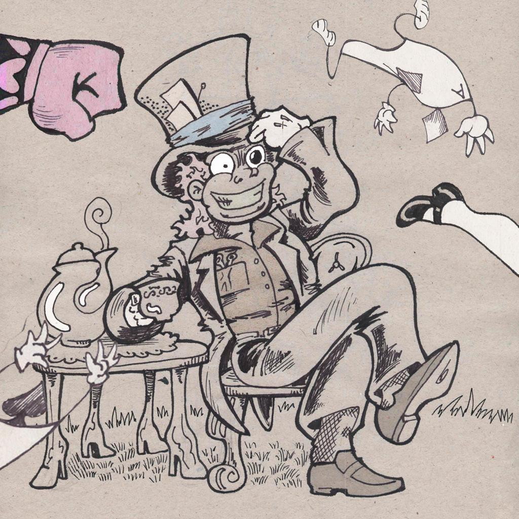 sombrerero loco by mrpulp-presenta