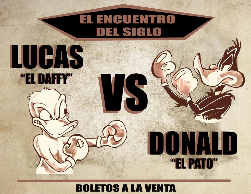 Daffy Vs El Pato by mrpulp-presenta