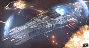 Nuridia II-class mothership