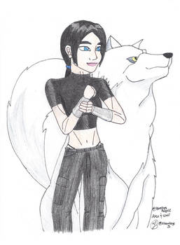 Alex and Wolf