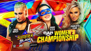 WWE SUMMERSLAM 2021 OFFICIAL MATCH CARD BY LPE