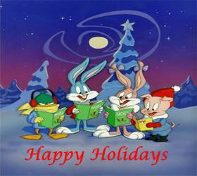 Happy Holidays from Tiny Toons