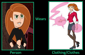 What If Kim Possible Wears Gwen's Clothes