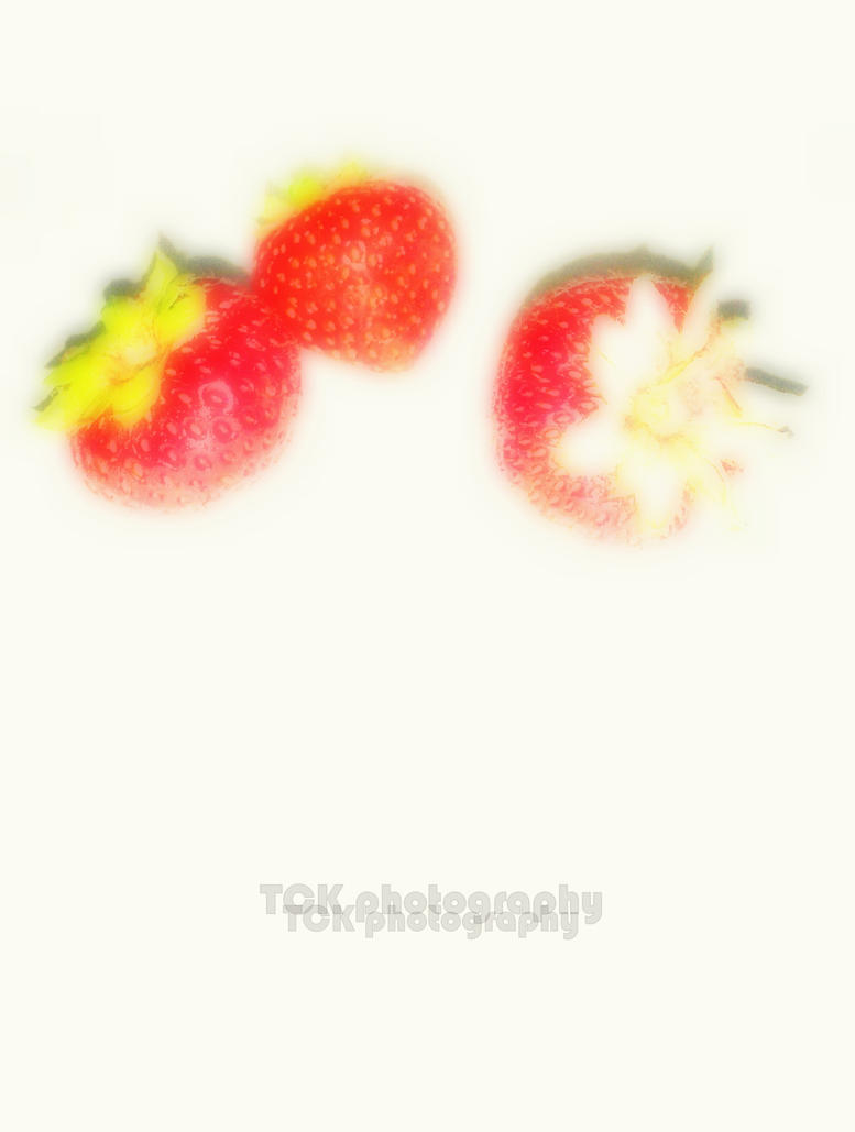 Strawberry's. Inspired by Andy Warhol. by ASFmaggot