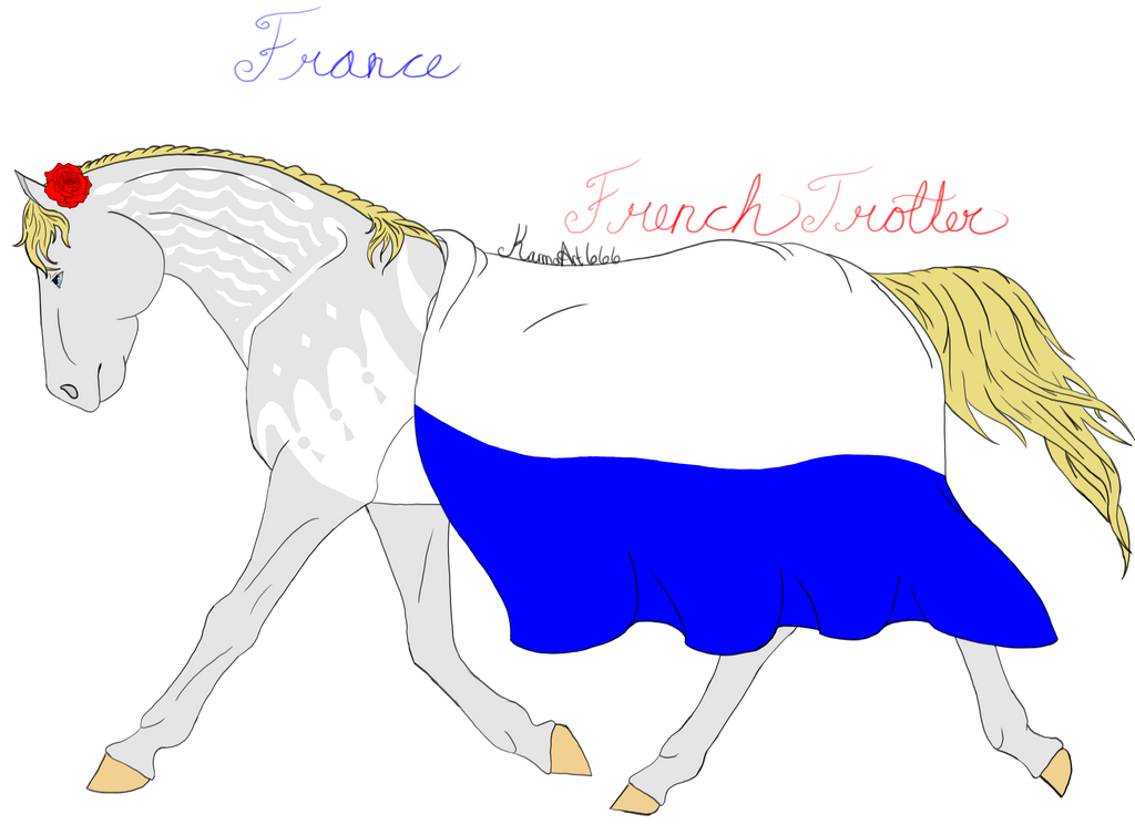 France-Francis Bonufoa-French Trotter by KarmaArt666