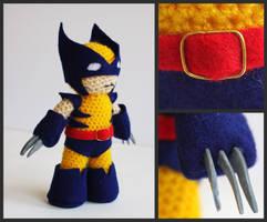 Wolverine Amigurumi by fleetingdawn