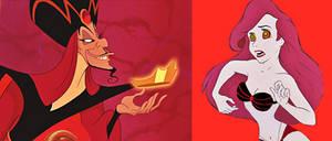 Ariel and Jafar: Hypno Dance