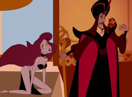 Ariel and Jafar: The Slave Under His Spell by hypnotica2002