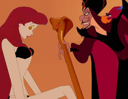 Slave Ariel and Jafar: Everything Will Be Fine by hypnotica2002