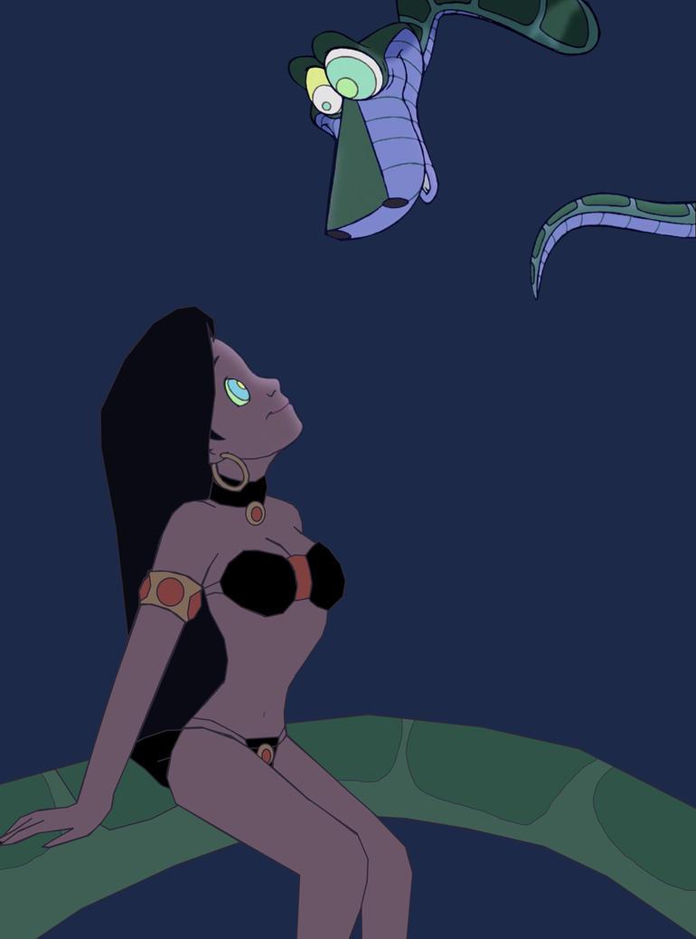 Slave Mari and Kaa: Follow My Eyes, My Slave by hypnotica2002