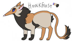 My finished Hawkfrost design