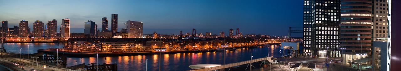 Panoramaview Rotterdam by Oliviersauer