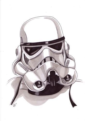 Stormtrooper A4 by kevbrett