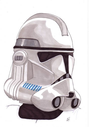 Clone Trooper by kevbrett