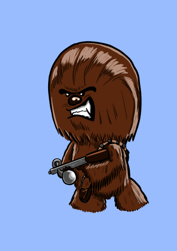 Chewie by kevbrett