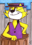 Top Cat Sketchcard