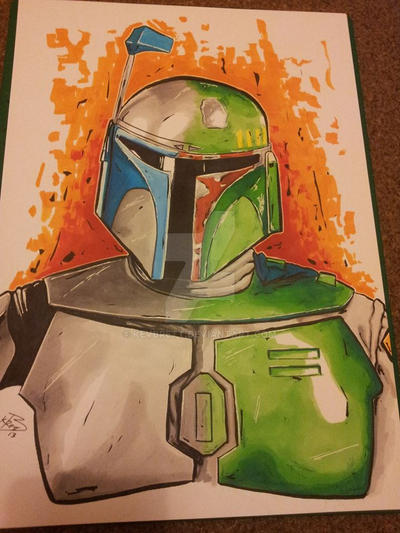 Family Fett by kevbrett