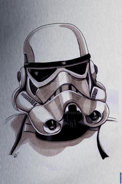 Aluminium-stormtrooper by kevbrett