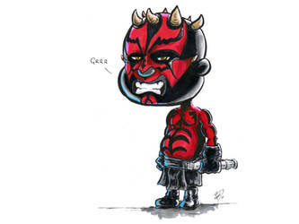 Darth Maul by kevbrett