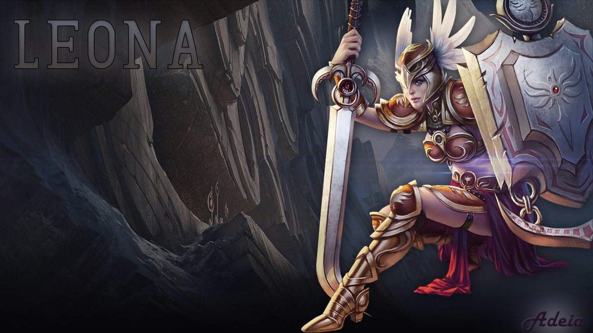 leona wallpaper fan art - photo #44