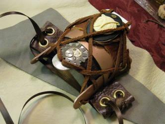 Owl Bracer by ChildOfPuck