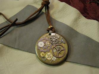 Steampunk Medallion by ChildOfPuck