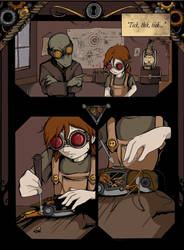 Cricket's Tale: Page 1 by ChildOfPuck