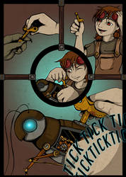 Cricket's Tale: Page 2 by ChildOfPuck