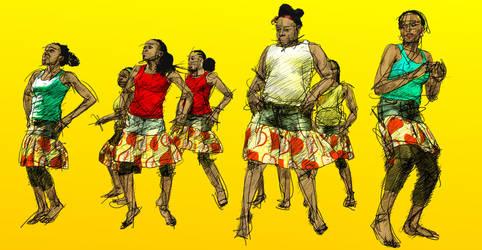 Dancers 2 by Dak55