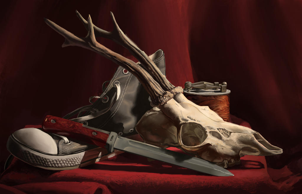 Old stuff still life by 44Visions