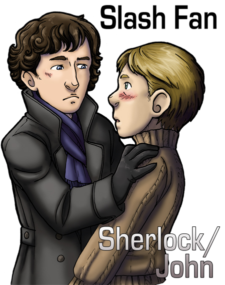 Sherlock Slash by ScuttlebuttInk