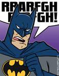 I'M BATMAN Print/Badge