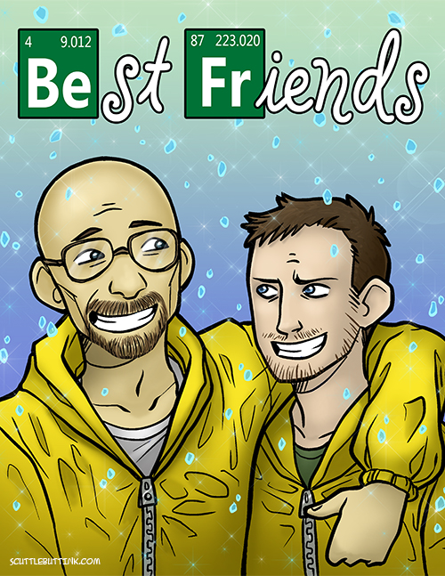 You've Got a Friend in Heisenberg by ScuttlebuttInk