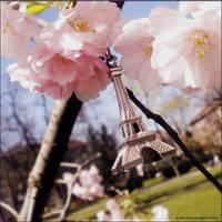 spring Eiffel tower by eLFoxy