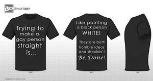 Painting a Black Person WHITE! by TheAspiringWriter