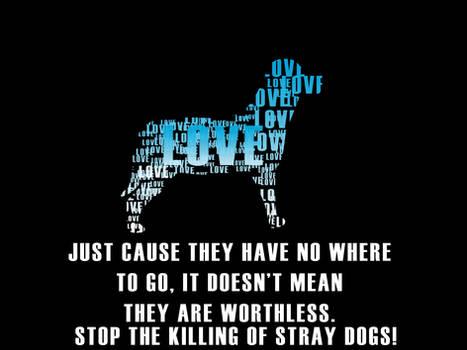 Stop Killing stray dogs!