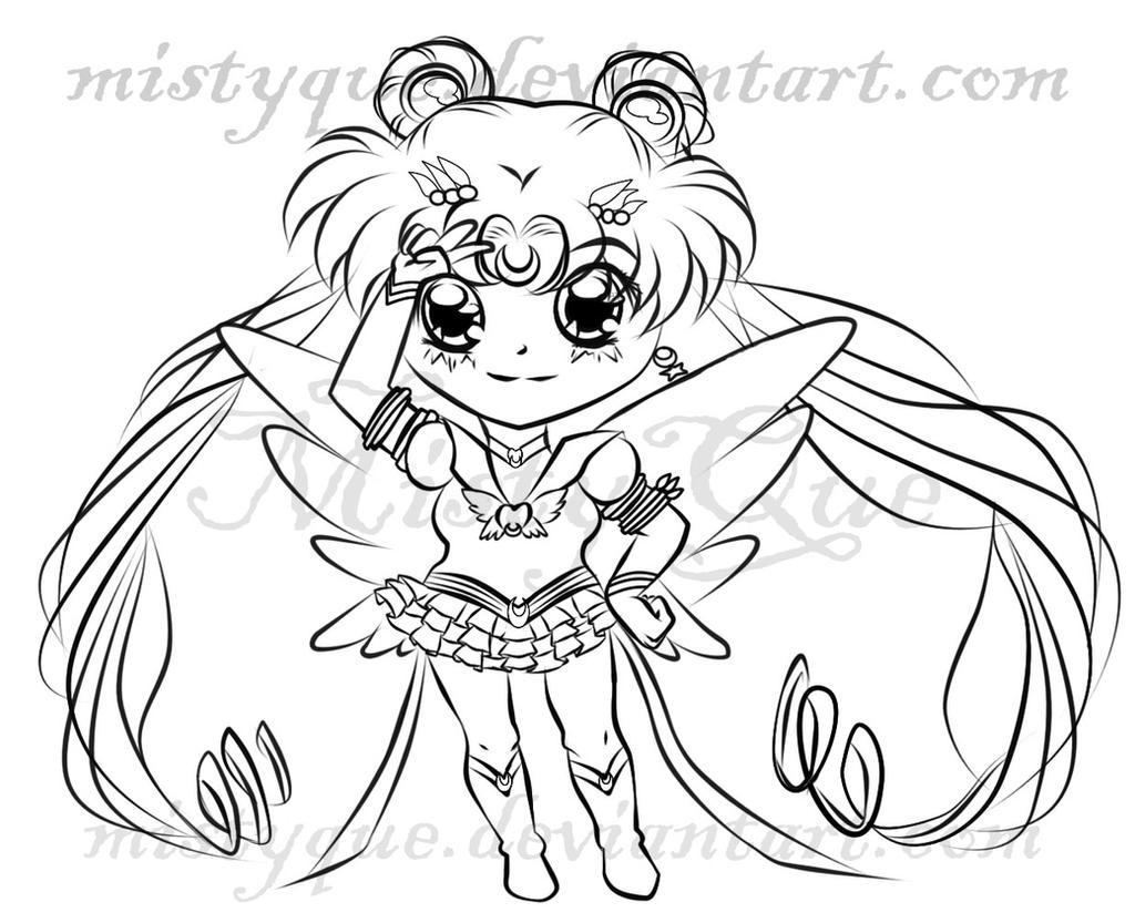 Chibi Eternal Sailor Moon by MistyQue on DeviantArt