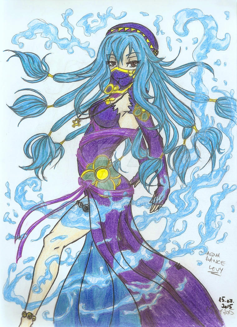 Aqua Dance Levy - color by MistyQue