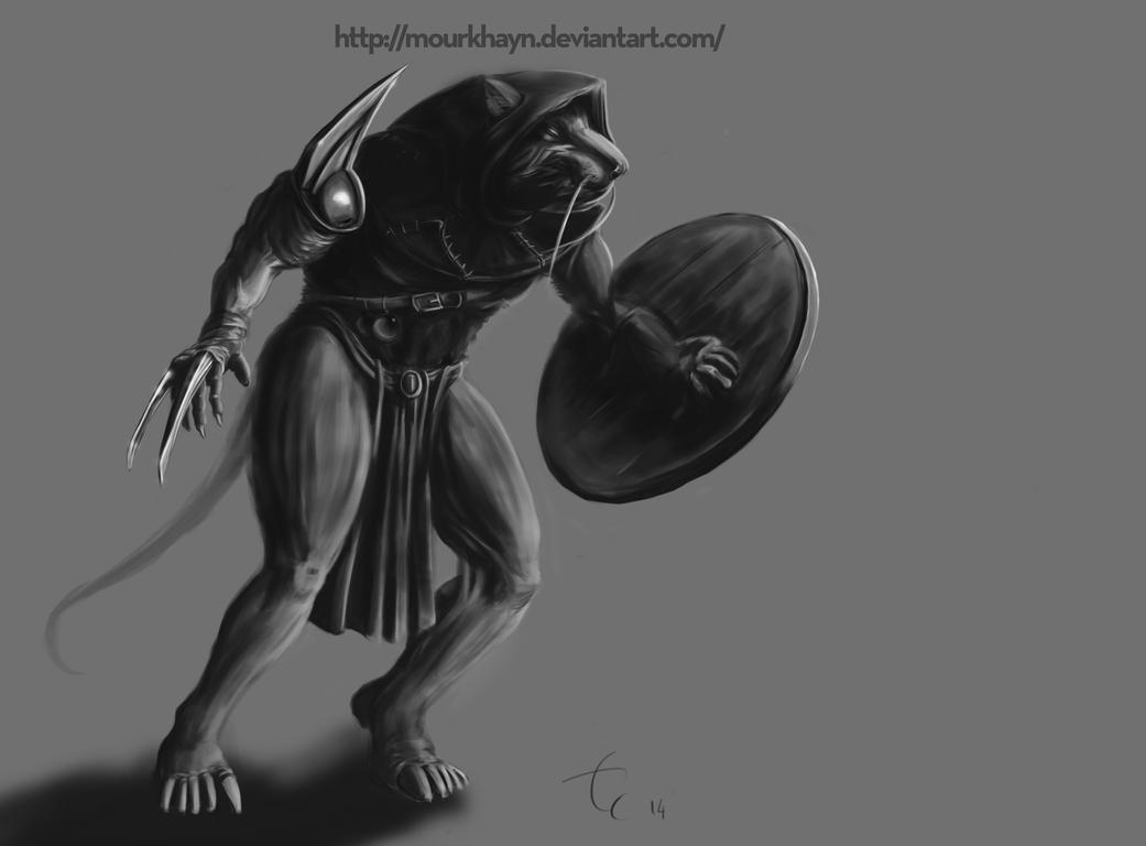 Skaven Gutter Runner by Mourkhayn