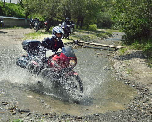 motorcycling in Romania