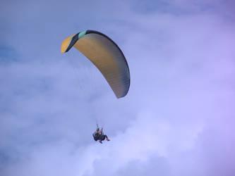 Paragliding in Romania II