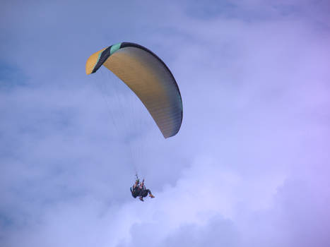 Paragliding in Romania II