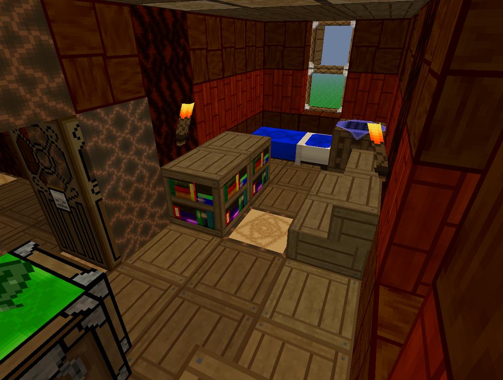 Minecraft Bedrooms Screen Shot Minecraft Soliscraft Bedroom By Lorddarktjaard On