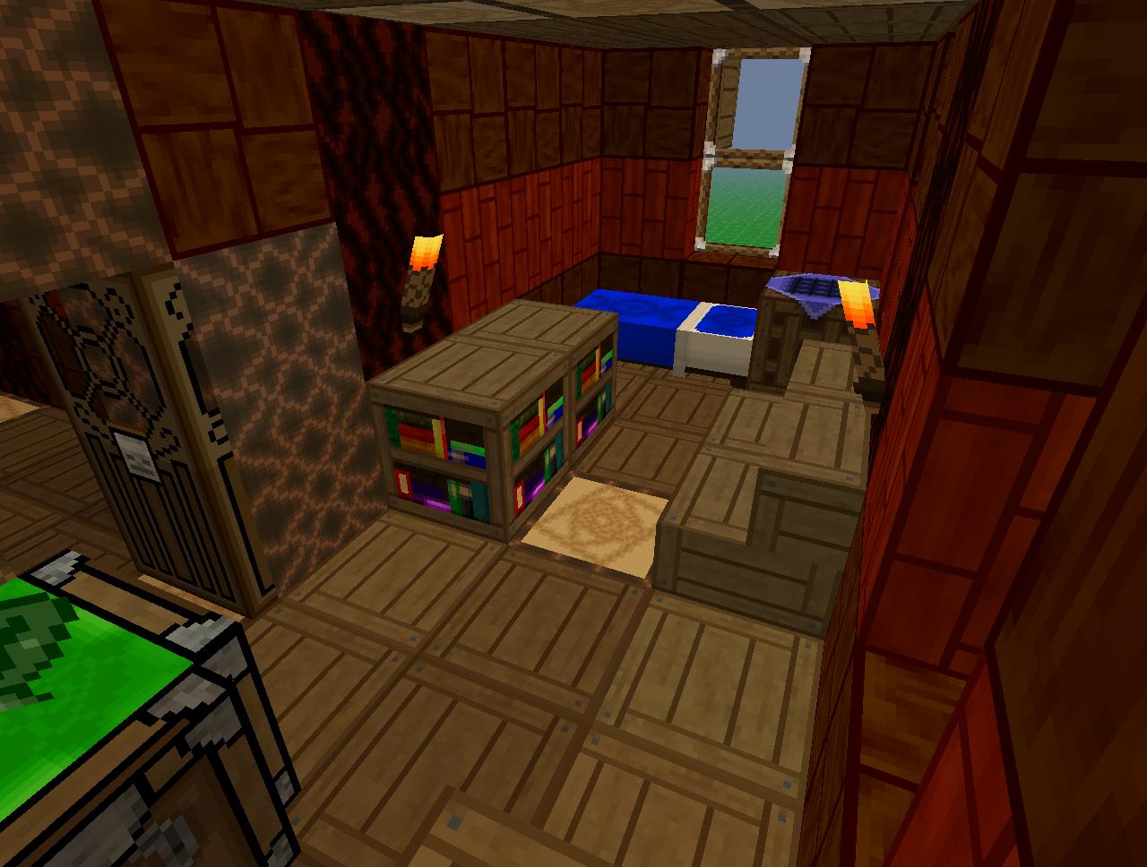 Coolest Minecraft Bedrooms