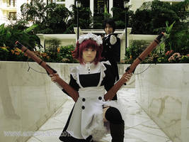 His Butler + Maid, Ready.