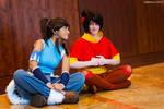 Korra and Jinora: Meditation?