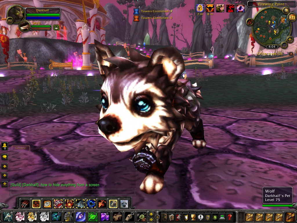 the most cuteness overload pet on wow by NecromancerKing85