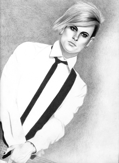 Tommy Joe Ratliff Drawing by santabillie