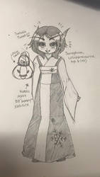 Little 6 year old Seraphina